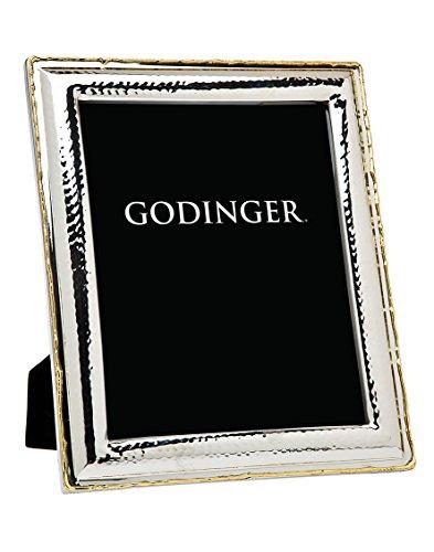 Godinger Silver Art Hammrd Gold Border Frame - Photo Godinger Frame