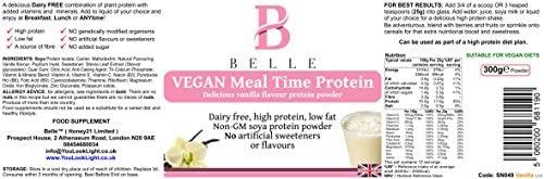 Belle® Vegan Meal time Polvo de proteína de soja - sabor a ...
