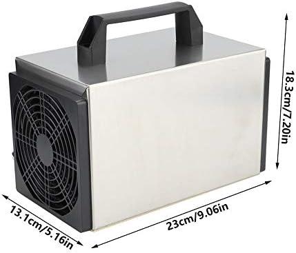 20g/h Interruptor de Tiempo Ozonizador Purificador de Aire Generador de ozono Máquina de desinfección Enchufe de la UE 250V: Amazon.es: Hogar