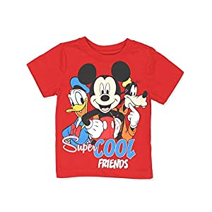 Mickey Mouse Clubhouse Baby Toddler Boys Short Sleeve Tee