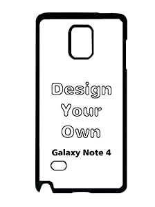 Samsung Galaxy Note 4 Case Cover, Unique Image Sporty Theme Make Your Own Cell Phone Accessories Attractive Slim Phone Case