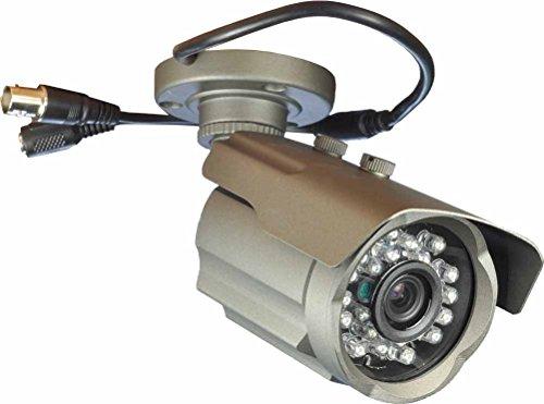 Boomlens- Analog CCTV Camera Infrared 24 LEDs 3.6mm Lens Security Camera 1000TVL Day/Night Vision Bullet Waterproof Surveillance Camera