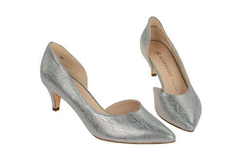 Peter Kaiser 55773/652 - Zapatos de vestir de Piel Lisa para mujer gris claro