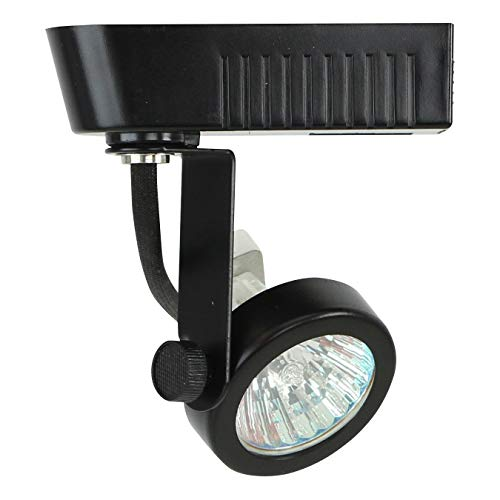 Direct-Lighting 50016 Black MR16 Gimbal Ring Low Voltage Track Lighting ()