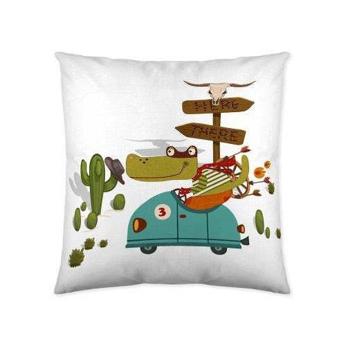COTTON ART. Funda de cojín Coches Locos 60 x 60: Amazon.es ...