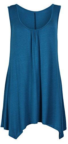 Purple Hanger - Camiseta sin mangas - para mujer petróleo