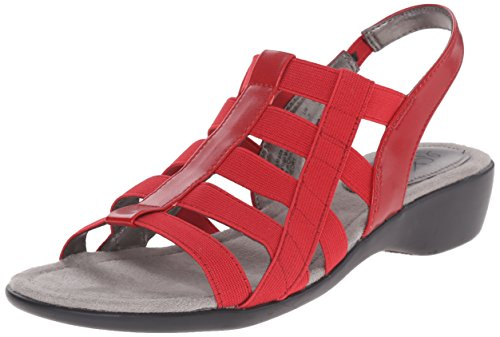 LifeStride Women's Theory, Red, 7.5 M US