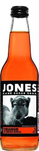 Jones Soda 12-Pack of Orange and Cream Jones Pure Cane Soda