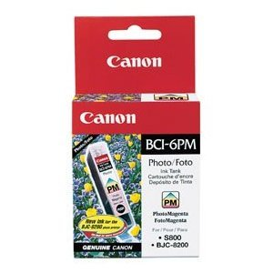 (Canon Ink, 4709A003AA, BCI-6, Photo Magenta, 280 pg yield [Non - Retail Packaged])
