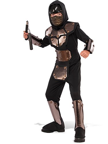 Rubie's Costume Child's Iron Phantom Ninja Costume, Medium, Multicolor