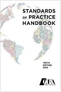 cfa standards of practice handbook pdf