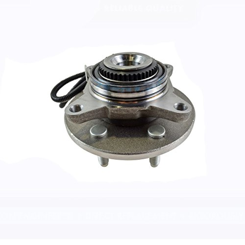 Detroit Axle - Front Wheel Hub and Bearing Assembly Driver Left or Passenger Right Side - 4x4 w/ABS 6 Stud; from 11/29/04-2005-2008 Ford F-150 4x4 - [2006-2008 Lincoln Mark - Front 6 Hub Stud
