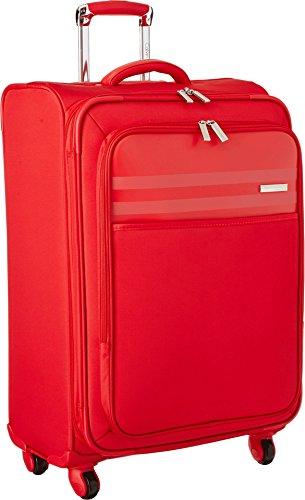 Calvin Klein Greenwich 2.0 25 Inch Upright Suitcase, Red, One Size by Calvin Klein