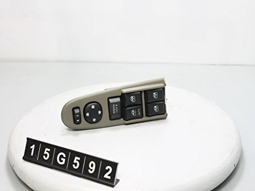 06 07 08 KIA SEDONA MASTER DRIVER POWER WINDOW SWITCH 19F876