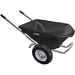 Lifetime Heavy Duty 6.5 Cubic Foot Capacity Wheelbarrow