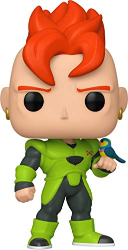 Funko- Pop Animation Dragon Ball Z-Android 16 Collectible Toy, Multicolor (44265)