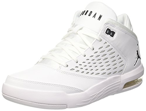 Nike Herren Jordan Flight Origin 4 Basketballschuhe Elfenbein (Whiteblack 100)