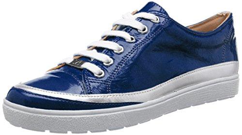 Caprice Damen 23654 Derbys Blau (marina Napa Mult 819)