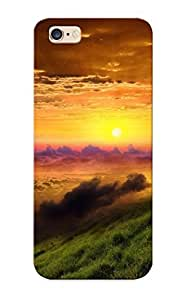 Top Quality Protection Sunset Case Cover For Iphone 6 With Appearance/best Gifts For Christmas Day