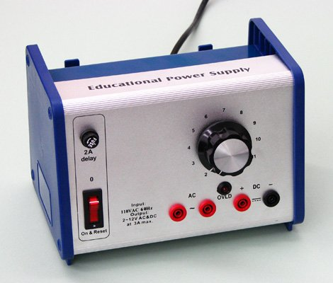 SEOH Power Supply AC/DC 0-12V, 4A