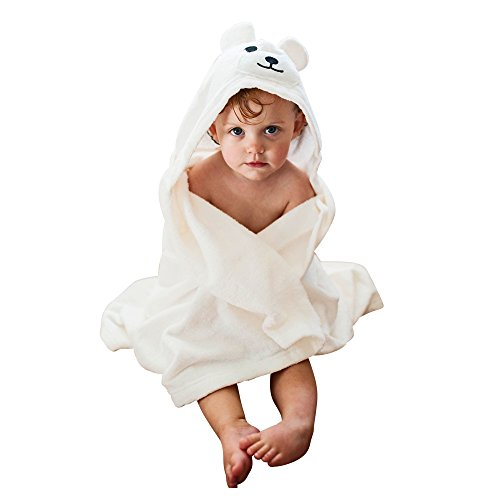 Hooded Baby Bath Towel for Babies and Toddlers | Perfect Bath Towel with Hood for Kids | Baby Registry Gender Neutral Gift