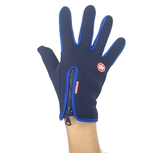 LYZ Windproof waterproof gloves Cycling Gloves Mountain Bike Gloves Road Racing Bicycle Gloves Full Finger Gloves