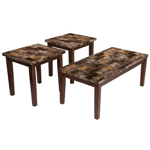 Ashley T158-13 Theo 3 Piece Occasional Table Set