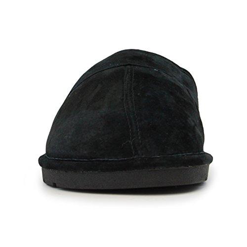 Pictures of Lamo Men's Scuff Slipper - Suede Shoe Black 2