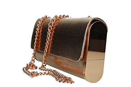 bag elegant woman VN2365 button Clutch MICHELLE copper MOON ceremony opening XqAw5dx