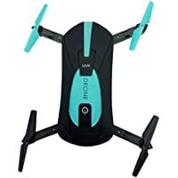 Freelink JYB 018 RC Quadcopte Camera Drone Foldable Drone Mini Wifi FPV High Hold Mode Selfie 0.3MP Camera Phone Control