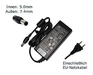 """Fuente de alimentación para HP Compaq HP-OW120G13 SE LF HP-OW120G13SELF HP-OW135F13 LF SE HU10042-7047 Pa-1900-32HT cargador LCDs, cargador, Adaptador de CA, de alimentación (12 meses de garantía, compatible-cable) - """"de alimentación"""" europeo"""