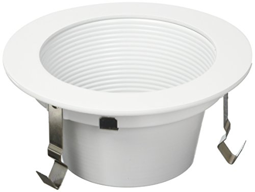 Wt White Trims 4 (WAC Lighting HR-LED421-WT/WT 4-Inch LED Downlight Trim Round)