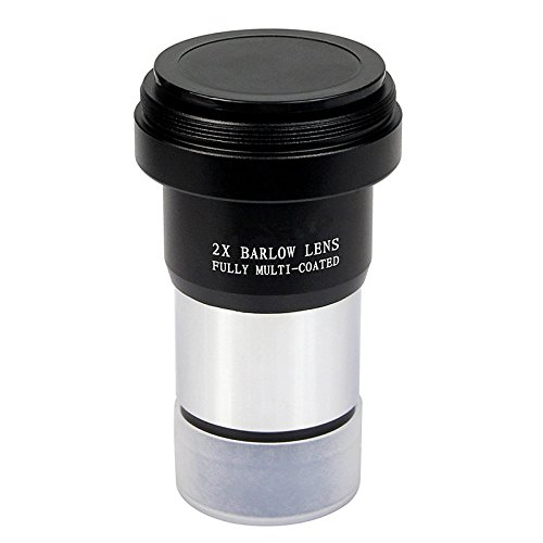 1.25'' 2x Barlow Lens Metal with M42x0.75 Thread Camera Interface for Telescopes by CrystalOutdoor (Image #2)