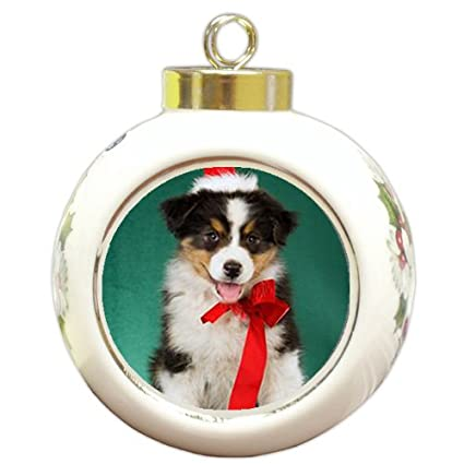 Australian Shepherd Aussie Christmas Ornament - Amazon.com: Australian Shepherd Aussie Christmas Ornament: Home