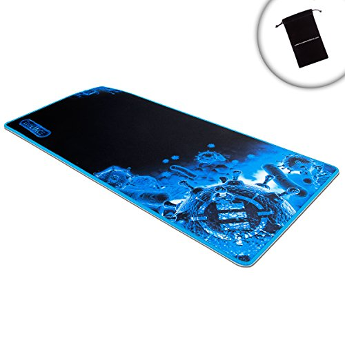 "ENHANCE GX-MP2 Extended Gaming Mouse Pad Mat (31.5"" x 13.75"") 