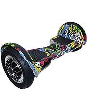 Discovery Graffiti Printed Smart Self Balance Hoverboard - 25 cm - 2725607923139