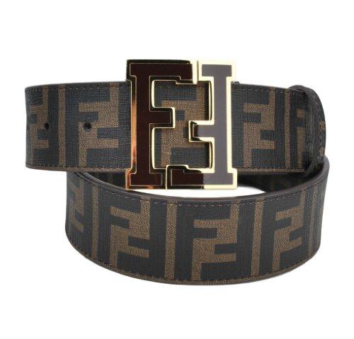Fendi Men's Belt 36 Brown