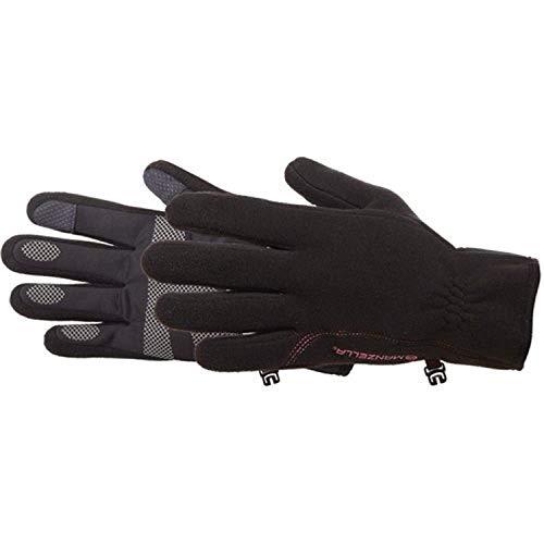 Manzella Women's Tempest Windstopper Touch Tip Glove Black LG & Headband Bundle