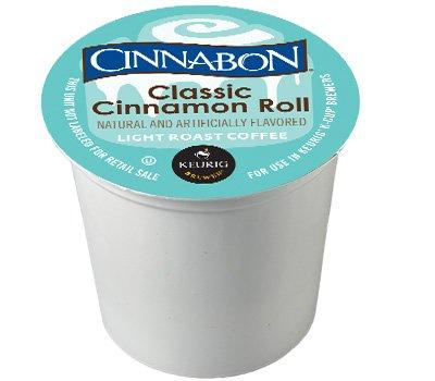 Cinnabon Classic Cinnamon Roll K-Cup Coffee 24 count, pack of 4 by Cinnabon