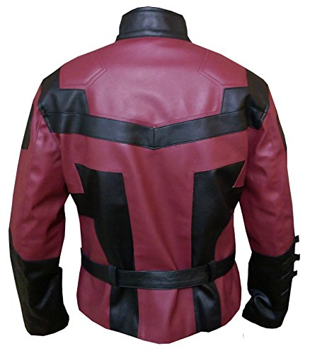 Charlie Cox Daredevil V2 Leather Jacket , FAUX Leather , L