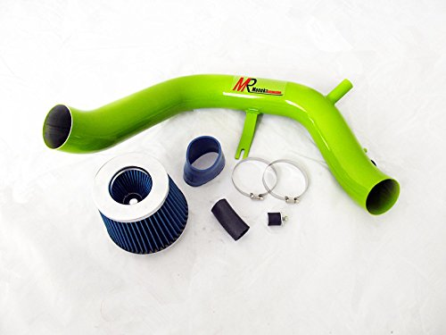 04 05 06 07 08 Acura TSX 2.4 L4 GREEN Piping Cold Air Intake System Kit with Blue Filter