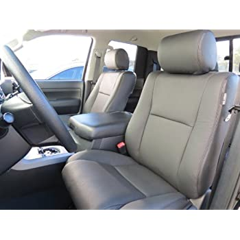 toyota tundra crew max 39 2007 39 2013 factory leather interior replacement seat cover. Black Bedroom Furniture Sets. Home Design Ideas