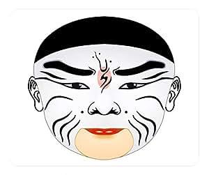 Mask Design Rectangular Mouse Pad Cao Cao