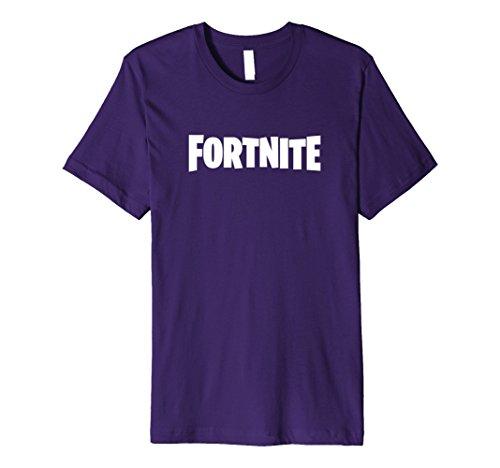 Mens Fortnite Logo T-Shirt Small Purple