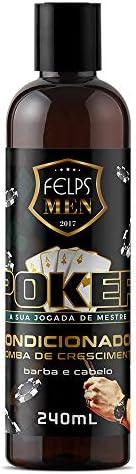 Men Poker Condicionador 240 ml, Felps, 240ml