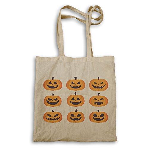 Beängstigend Halloween Kürbis Tragetasche q182r