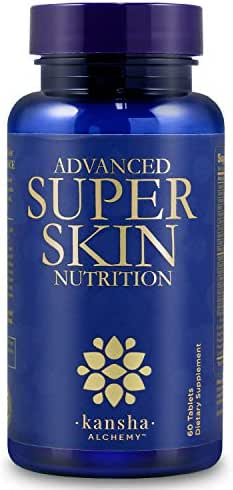 Premium Collagen Peptides, Anti Aging, Anti Wrinkle for Revitalised Skin, Hair and Nails Vitamins, Includes Keratin Complex, Biotin, Hyaluronic Acid, Astaxanthin, and Vitamin C, 60 Tablets