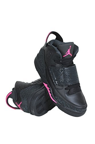 JORDAN SON OF GP girls basketball-shoes 512243-009_3Y - BLACK/HYPER PINK-ANTHRACITE-HYPER PINK by Jordan