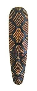 """African Mask Wall Hanging Aboriginal Painted Tribal Masks Wall Decor, LARGE 20"""" - OMA® BRAND"""