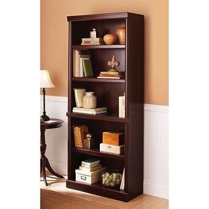 Amazoncom Better Homes And Gardens Ashwood Road 5 Shelf Bookcase